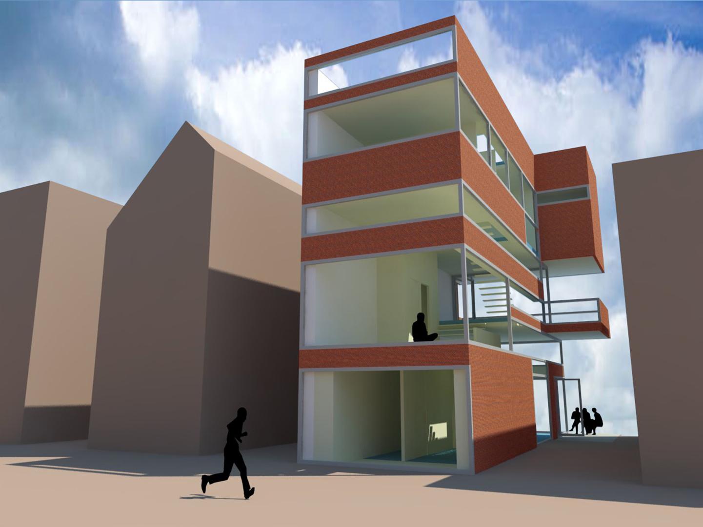 Woon-werkvilla in Waterrijk Woerden, ontwerp Wielen Architecten